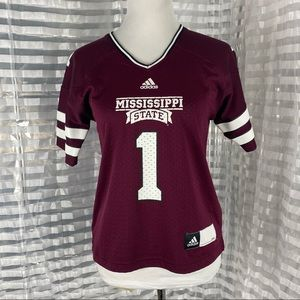 Adidas Mississippi State Official NCAA Jersey
